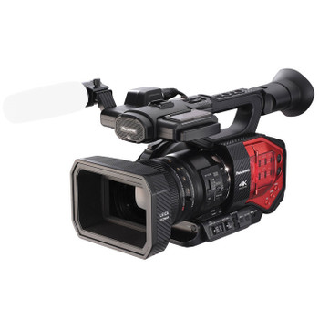 Panasonic AG-DVX200 4K Camcorder with Four Thirds Sensor and Integrated Zoom Lens
