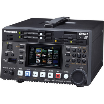 Panasonic AJ-PD500 AVC-ULTRA P2 Recorder - DISCONTINUED