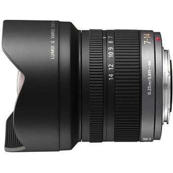 Panasonic H-F007014 Lumix G Vario 7-14mm f/4 ASPH. Lens