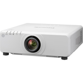 Panasonic PT-DZ780WU 7000-Lumen WUXGA DLP Projector with 1.7 to 2.4:1 Lens (White) - DISCONTINUED
