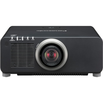 Panasonic PT-DZ870UK 1-Chip 8,500 Lumens DLP Projector (with Lens, Black)