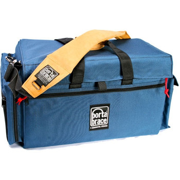 Portabrace DVO-3U Large Carrying Case for Camcorder with Matte Box and Follow Focus (Signature Blue)
