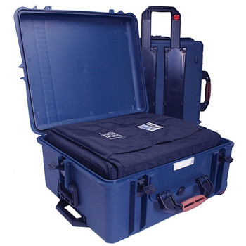 Portabrace PB-2750IC Hard Case with Soft Case Interior (Blue)
