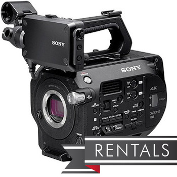 Sony PXW-FS7 Mark II Package