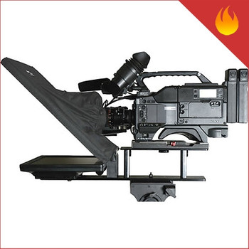 "Omega Broadcast & Cinema Q-Gear / PrompterPro 17"" kit"