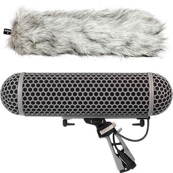 Rode Microphones BLIMP Windshield and Rycote Shock Mount Suspension System for Shotgun Microphones