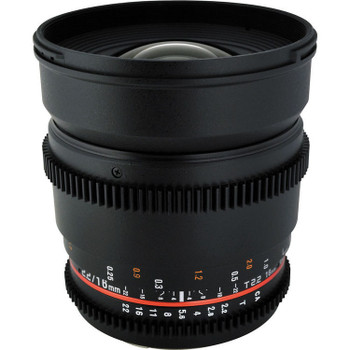 Rokinon CV16M-NEX 16mm T2.2 Cine Lens for Sony E