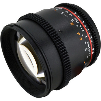 Rokinon CV85M-C 85mm T1.5 Cine Lens for Canon EF