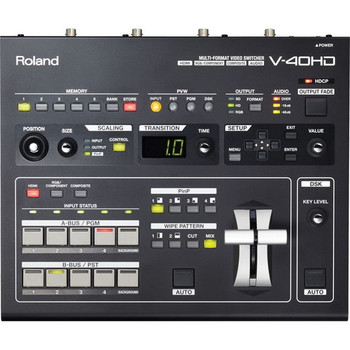 Roland Systems Group V-40HD Multi-Format Video Switcher