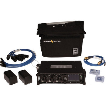 Sound Devices 633 Compact Field Mixer Kit with Carrying Case - DISCONTINUED