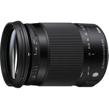Sigma 886101 18-300mm f/3.5-6.3 DC MACRO OS HSM Contemporary Lens for Canon EF