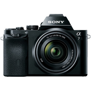 Sony ILCE7K/B Alpha a7 Mirrorless Digital Camera with FE 28-70mm f/3.5-5.6 OSS Lens
