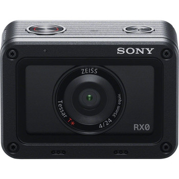"Sony DSC-RX0 1.0""-Type Sensor Ultra-Compact Waterproof/Shockproof Camera"