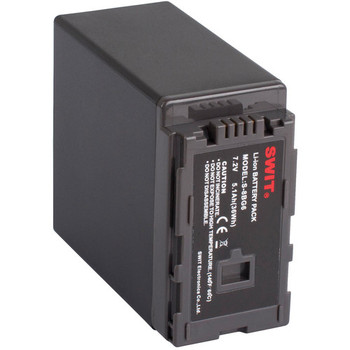 SWIT Electronics S-8BG6 DV Li-ion battery with DC Output for Panasonic VW-VBG6