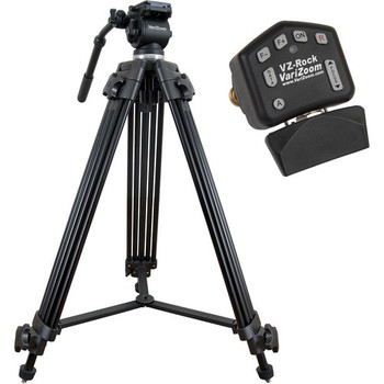 VariZoom VZ-TK75A-ROCK TK75A Video Tripod System with ROCK Lens Control Kit - DISCONTINUED