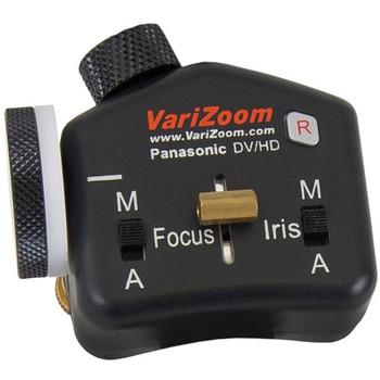 VariZoom VZ-TK75A Video Tripod System & VZ-STEALTH-PZFI Lens Controller Kit