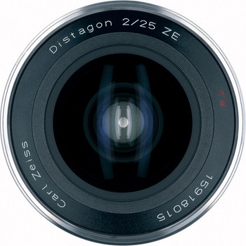 Zeiss 1871-766 Distagon T* 25mm f/2.0 ZE Lens for Canon EF Mount