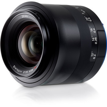 Zeiss 2096-555 Milvus 35mm f/2.8 ZE Lens for Canon EF