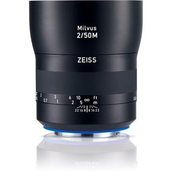 Zeiss 2096-559 Milvus 50mm f/2.8 ZE Lens for Canon EF