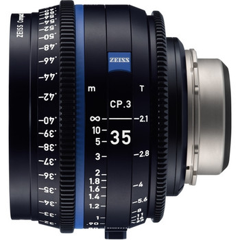 Zeiss 2177-924 CP.3 35mm T2.1 Compact Prime Lens