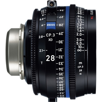 Zeiss 2193-314 CP.3 XD 28mm T2.1 Compact Prime Lens