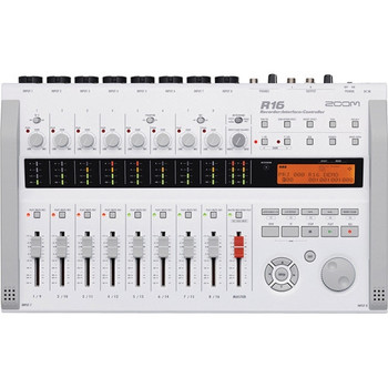 Zoom R16 Multi-Track Recorder and Mixer, Computer Interface and Controller