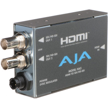 AJA HA5 HDMI to SD/HD-SDI Video and Audio Converter