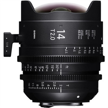 SIGMA 450966 14MM T2 FF HIGH-SPEED PRIME (EF MOUNT)