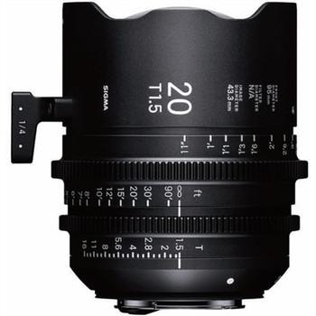 SIGMA 412966 20MM T1.5 FF HIGH-SPEED PRIME (EF MOUNT)
