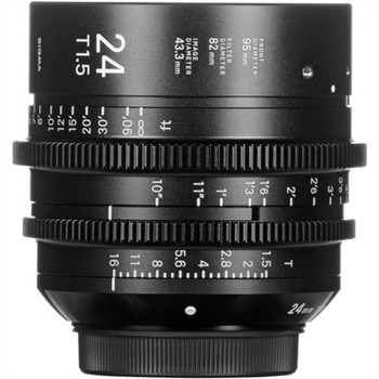 SIGMA 401966 24MM T1.5 FF HIGH-SPEED PRIME (EF MOUNT)