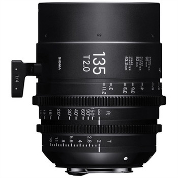 SIGMA 24F966 135MM T2 FULLY LUMINOUS FF HIGH-SPEED PRIME LENS (CANON EF)