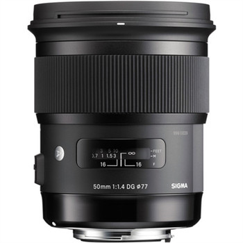 SIGMA 311306 50MM F/1.4 DG HSM ART LENS FOR NIKON F