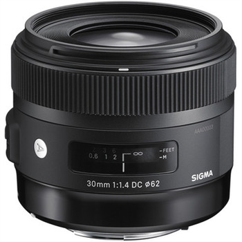 SIGMA 301306 30MM F/1.4 DC HSM ART LENS FOR NIKON