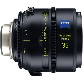 ZEISS Supreme Prime 6 Lens Kit of 25, 29, 35, 50, 85, 100mm (Feet, PL Mount)