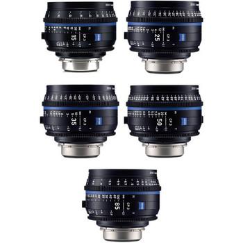Zeiss 2246-660 PL CP.3 5-Lens Set (PL Mount)