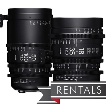 Sigma 18-35mm and 50-100mm T2 Zoom Lenses (Canon EF)
