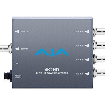 AJA 4K/UHD to 3G/HD/SD-SDI and HDMI Downconverter