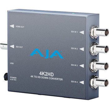 AJA 4K/UHD to 3G/HD/SD-SDI and HDMI Downconverter