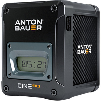 Anton Bauer 8675-0103 CINE 90 14.4V 90Wh Gold Mount Lithium Ion Battery - DISCONTINUED