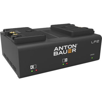 Anton Bauer 8475-0125 LP2 Dual Gold-Mount Battery Charger