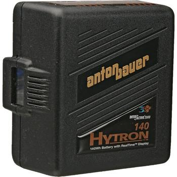 Anton Bauer 8675-0079 HyTRON 140 Digital Nickel Metal Hydride Battery 14.4 volts, 140 watt hours, 3-Stud Gold Mount