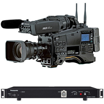 BSTOCK Panasonic Complete AJ-PX380 Camcorder Studio 910 Bundle (End of The Year Sale)