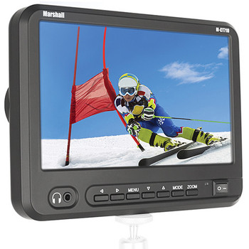 """Marshall Electronics M-CT710 7"""" Portable Camera-Top High Resolution Monitor - DISCONTINUED"""