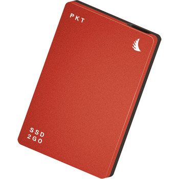Angelbird 256GB SSD2go PKT USB 3.1 Gen 2 Type-C External Solid State Drive (Red)