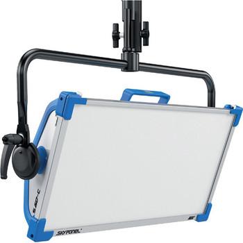 ARRI L0.0007063 SkyPanel S60-C LED Softlight with Manual Yoke (Blue/Silver, Edison)
