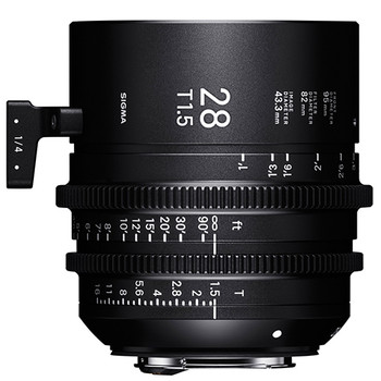 SIGMA 28mm T1.5 FF High Speed Prime Cine Lens