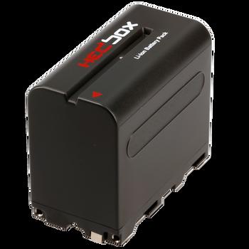 Hedbox NPF970 DV Battery Pack for SONY 6600mAh Li-Ion Battery 7.4V