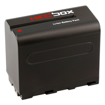 Hedbox NPF970 DV Battery Pack for SONY 6600mAh Li-Ion Battery 7.4V