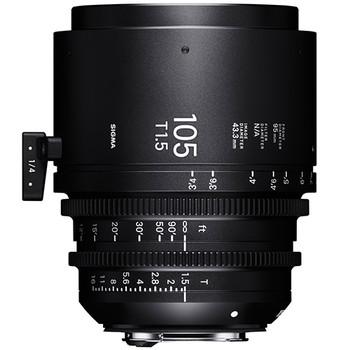 Sigma 105mm T1.5 FF f/CE f/Canon