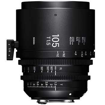 Sigma 105mm T1.5 FF f/VE Fl f/Sony